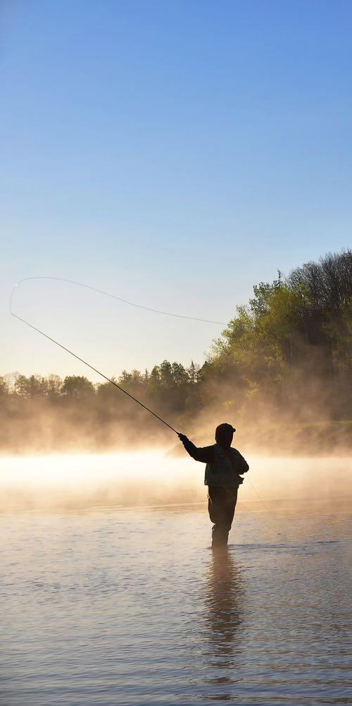 Fly Fishing in Fog