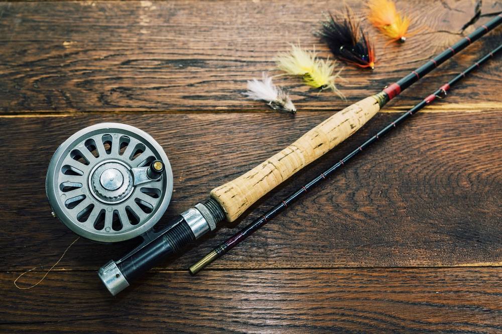 Good value Fly Rod Pieces on Table 2-piece