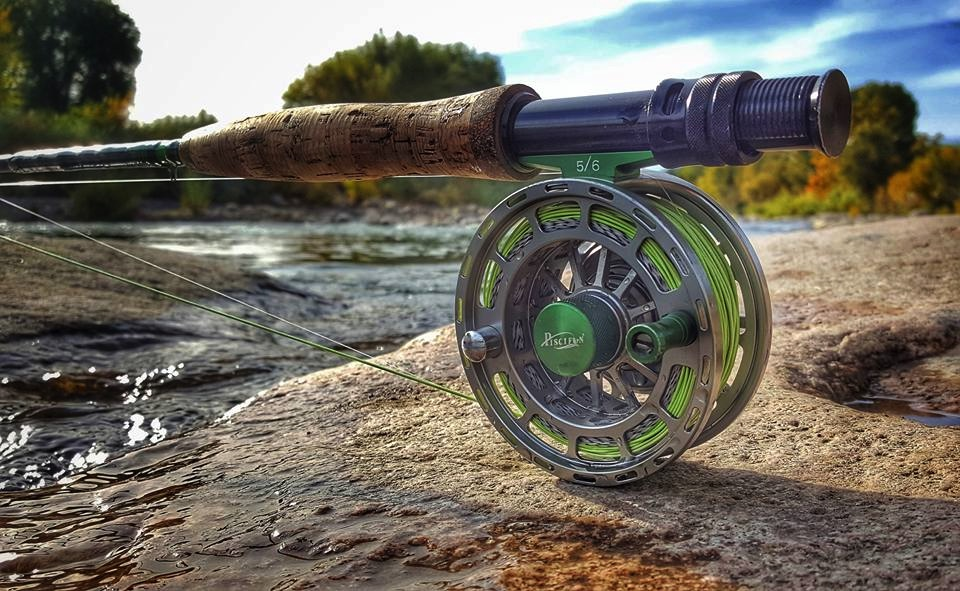 Pascifun Platte Fly Fishing Reel By River