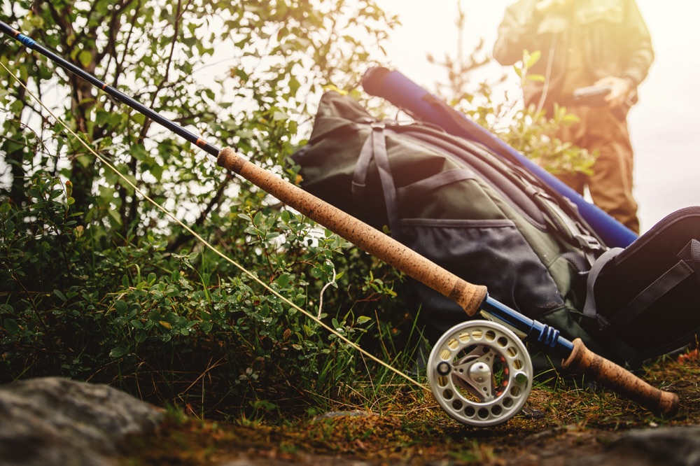 Travel backpack Fly Fishing Portable Fly Rod