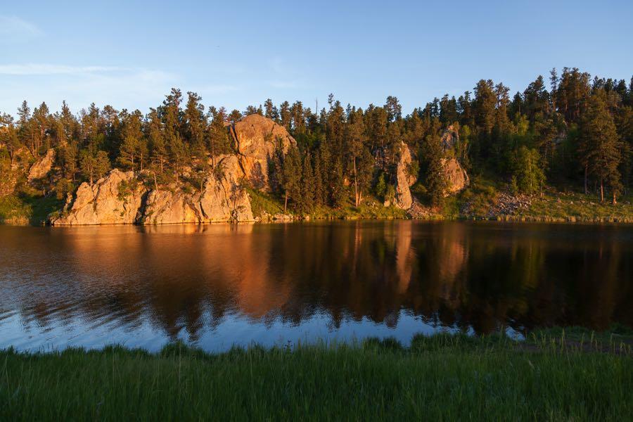 Best Spot for Fly Fishing on Stockade Lake in South Dakota