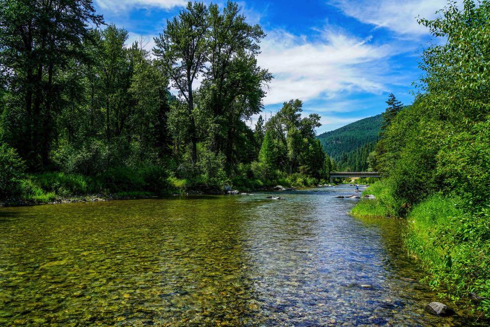 Fly Fishing in Clark Fork Montana