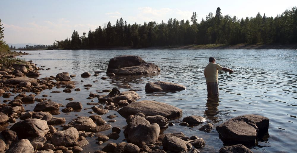 Fly Fishing Flathead River Montana
