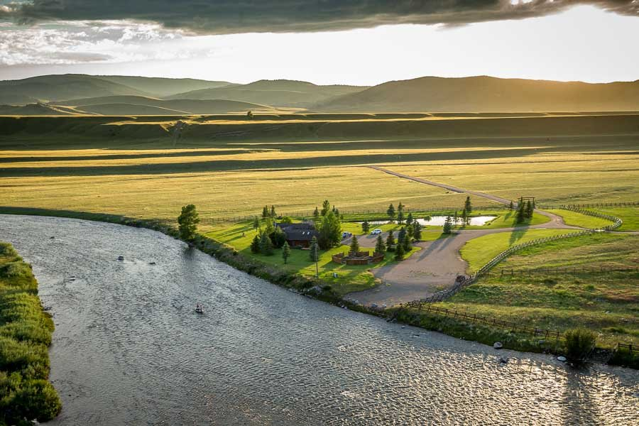 Madison River Fly Fishing Lodge in Montana