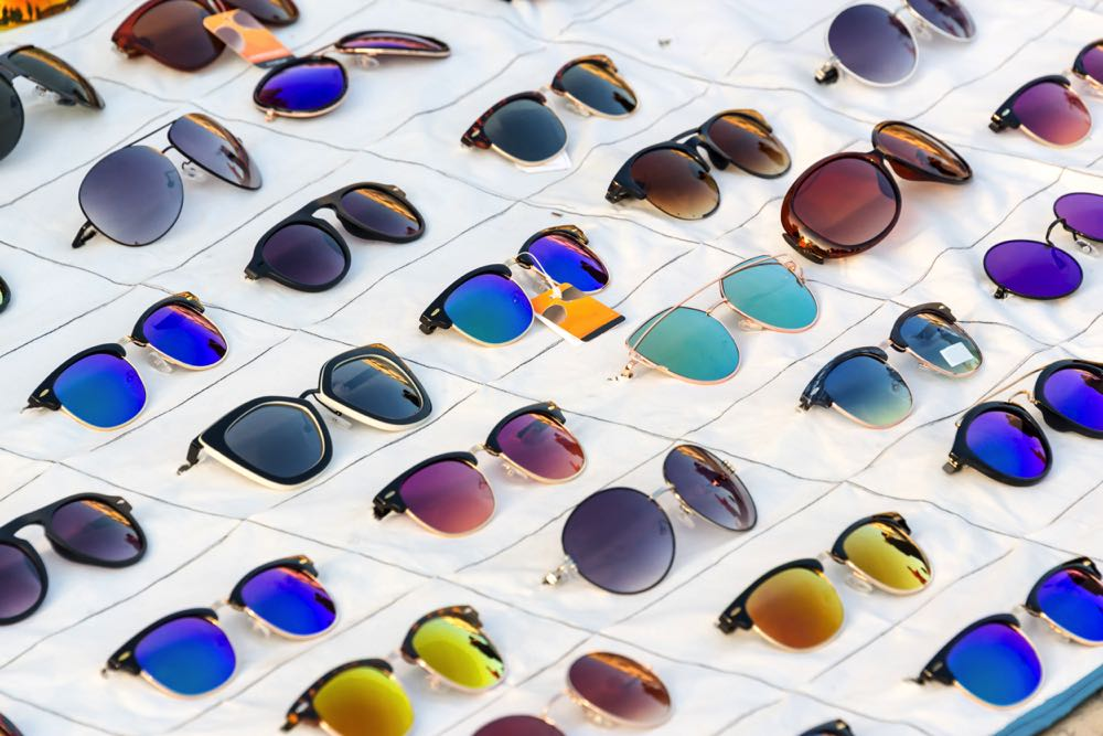Many Different Types of Sunglasses Lenses