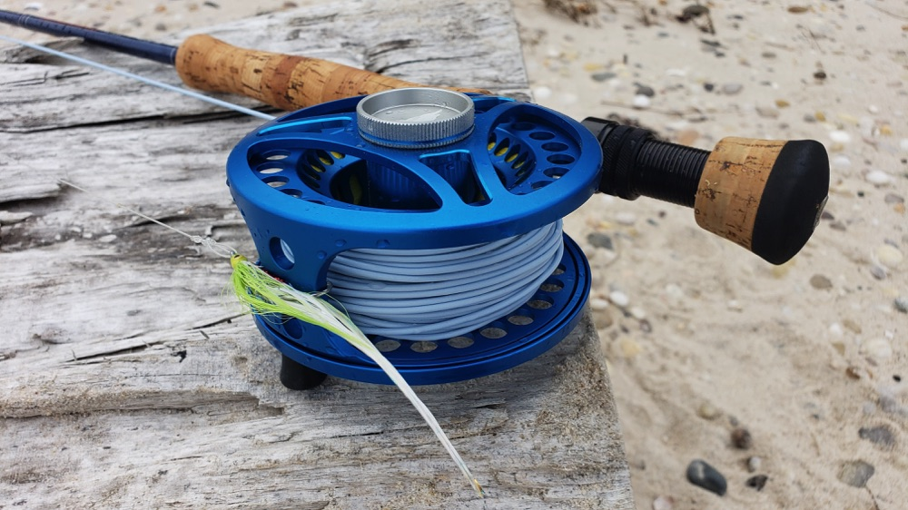 Saltwater Fly Fishing Rod On Beach