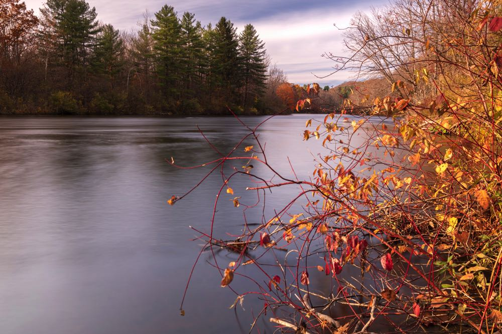 West Canada Creek View in New York State