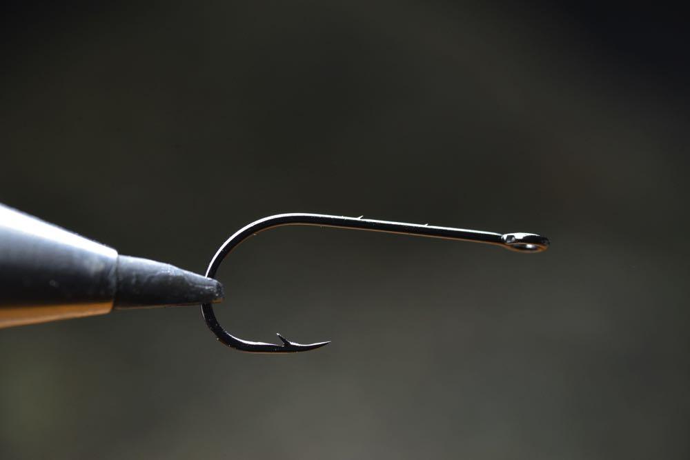 Blank Hook in Fly Tying Vice