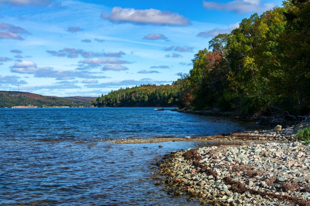 Bras d'Or Lake is one of the best canadian fly fishing destinations