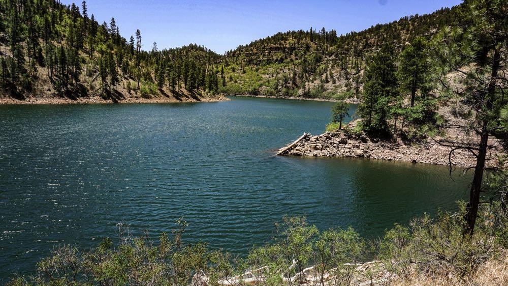 Chevlon Canyon Lake Arizona Fly Fishing Spots
