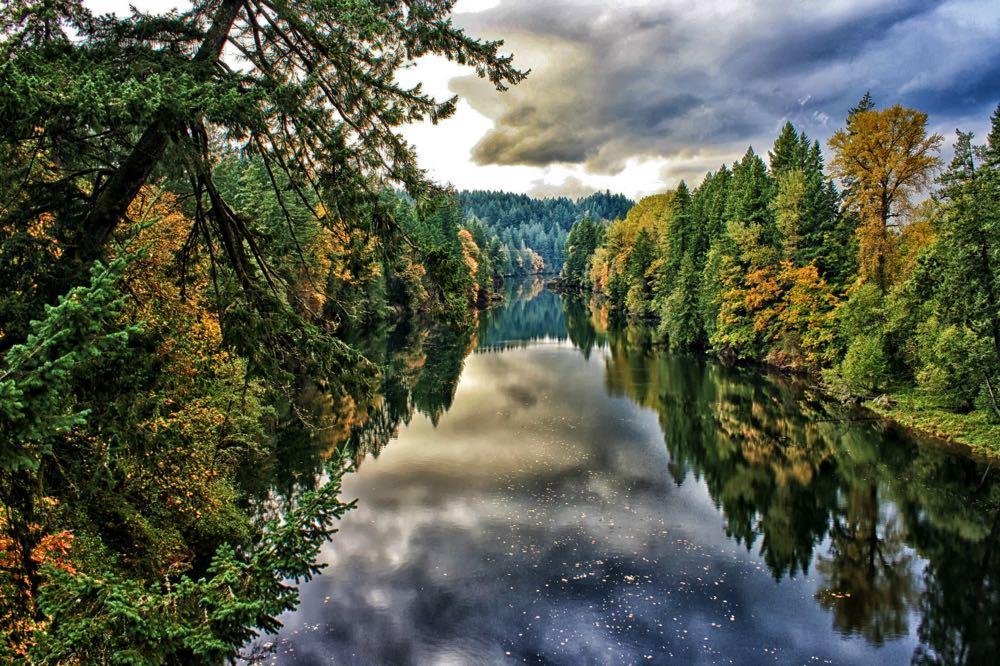 Clackamas River Oregon