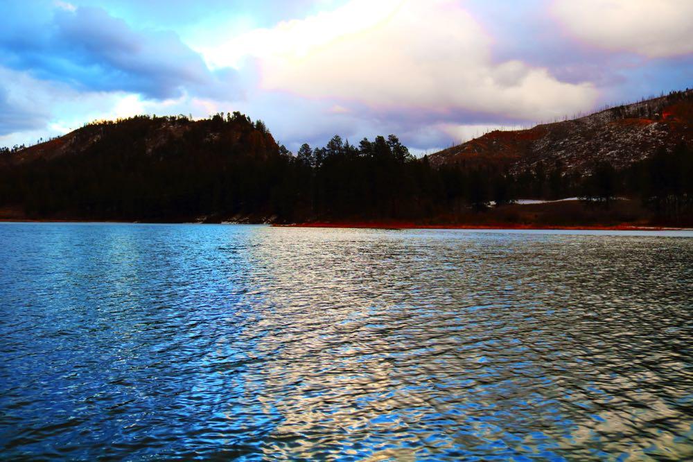 Fenton Lake in New Mexico