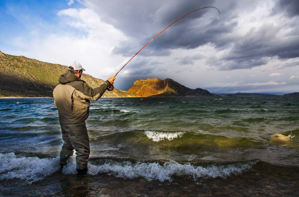 Flaming Gorge Nation Recreation Area Fly Fishing in Wyoming