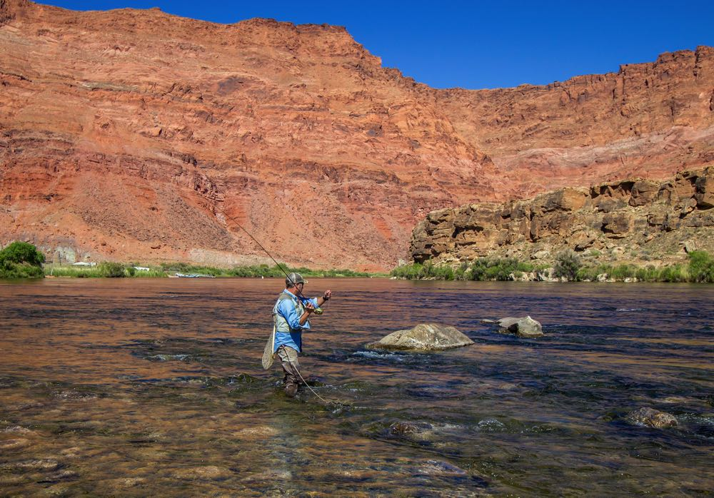 Fly Fishing with best sling packs