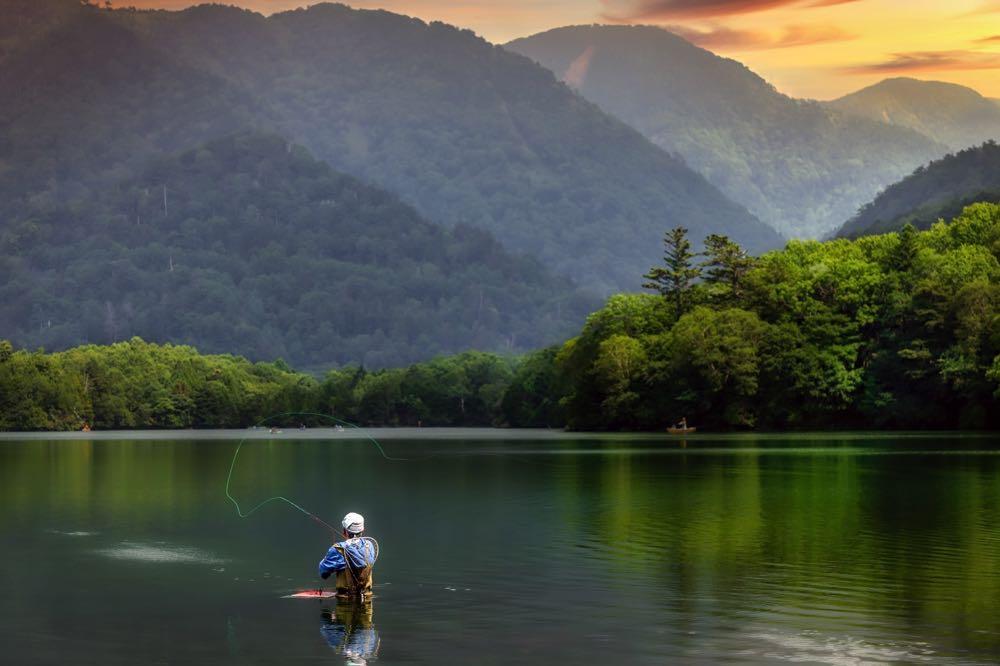 Fly Fishing in Japan