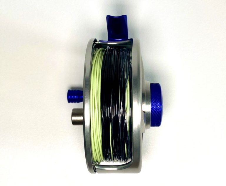 How to add fly line to a fly reel finished product