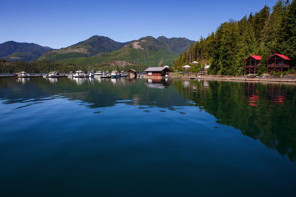 Moutcha Bay Fly Fishing Resort in BC