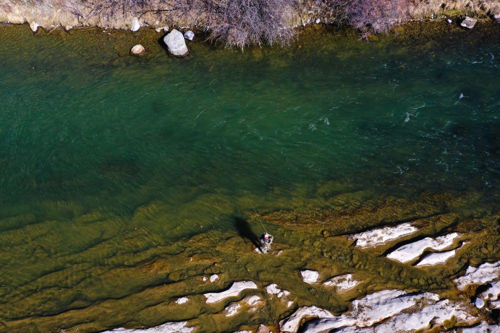 New Mexico Fly Fishing Season - Aerial View