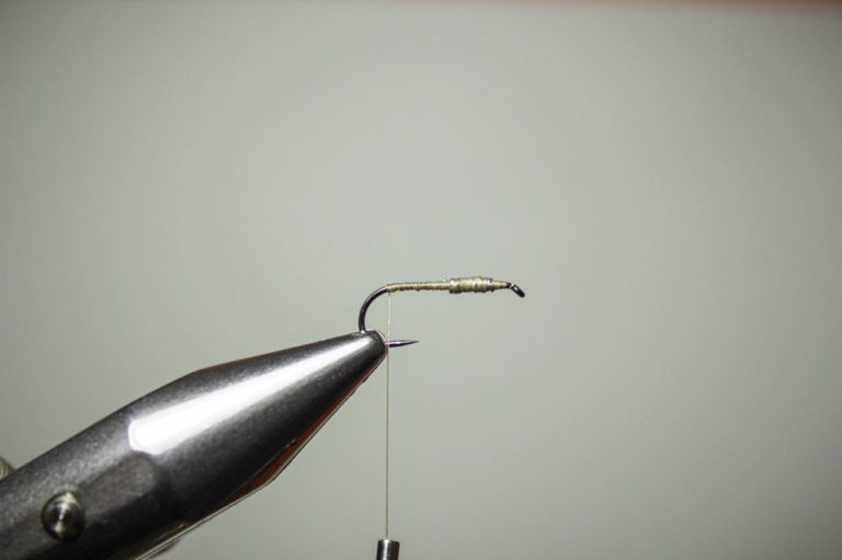 how to tie a pheasant tail nymph step 2