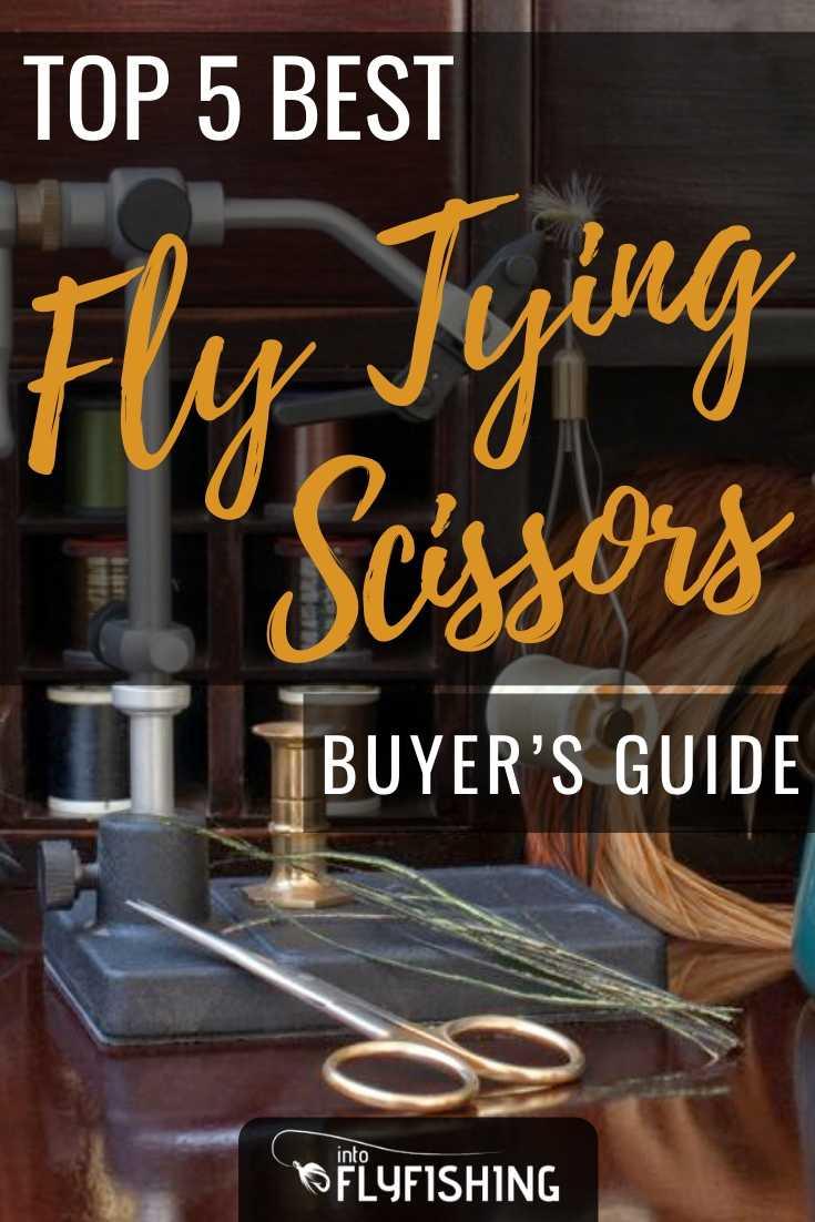Top 5 Best Fly Tying Scissors Buyer's Guide