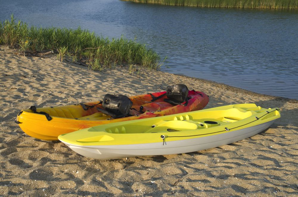 Two Different Types of Fly Fishing Kayaks