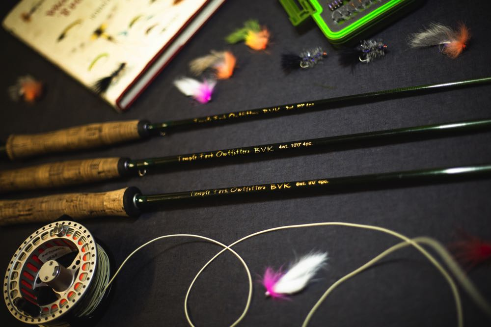 TFO BVK Fly Rod and gear