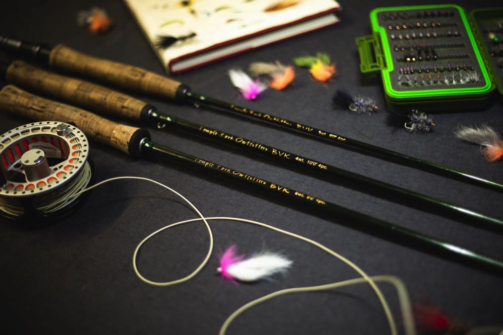 My 4 Weight TFO BVK Fly rod