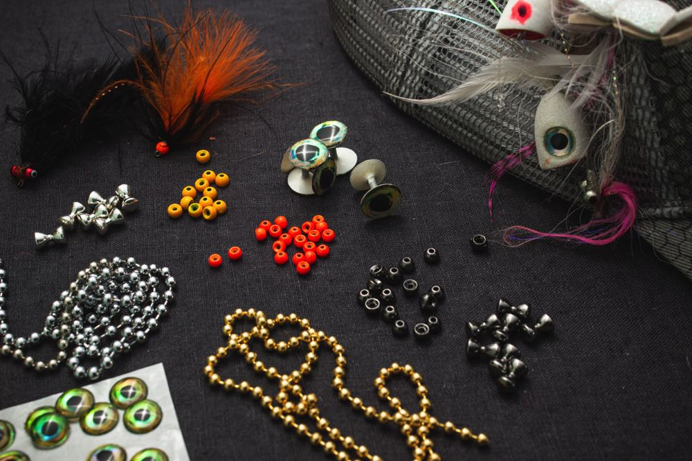 fly tying Beads and eyes
