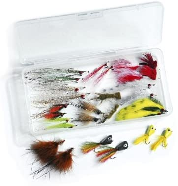 Clouser's Swimming Nymph The Clouser Minnow is an extremely common streamer that many anglers love to use for large trout and bass. The nymph version is a bit smaller, heavier and is a great fly to use when targeting carp. It has quite a bit of material, and will fall quickly in the water column.