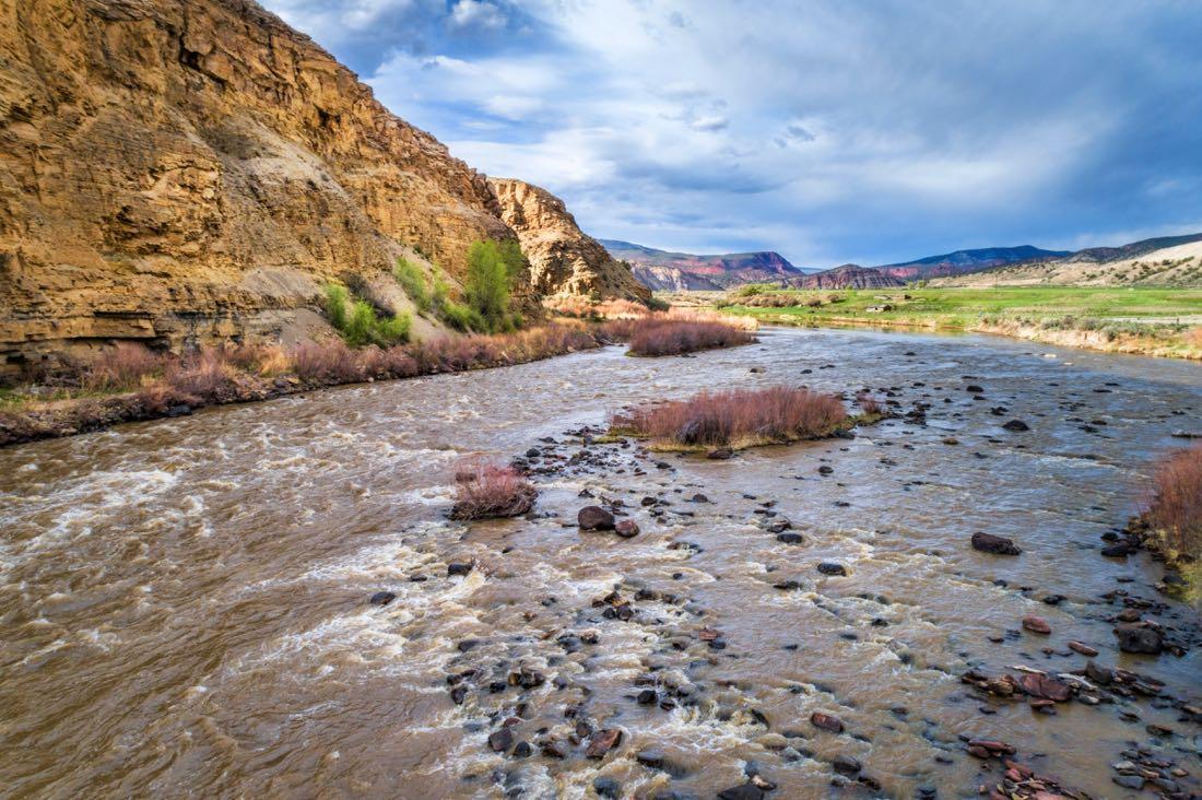 Colorado River Fly Fishing in Colorado
