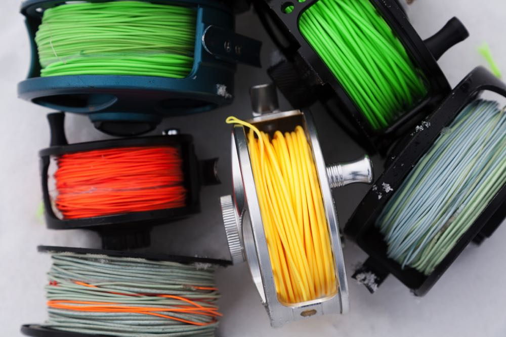 Different Types of Fly Fishing Lines on Reels