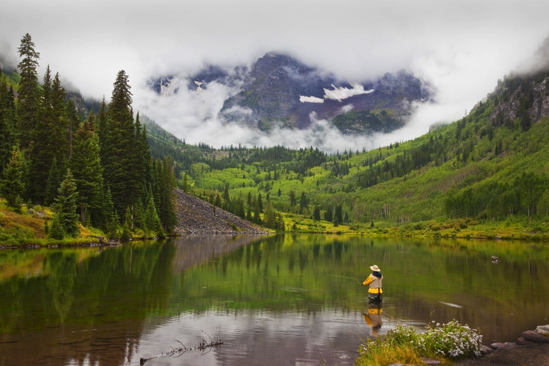 Fly Fishing Colorado In April