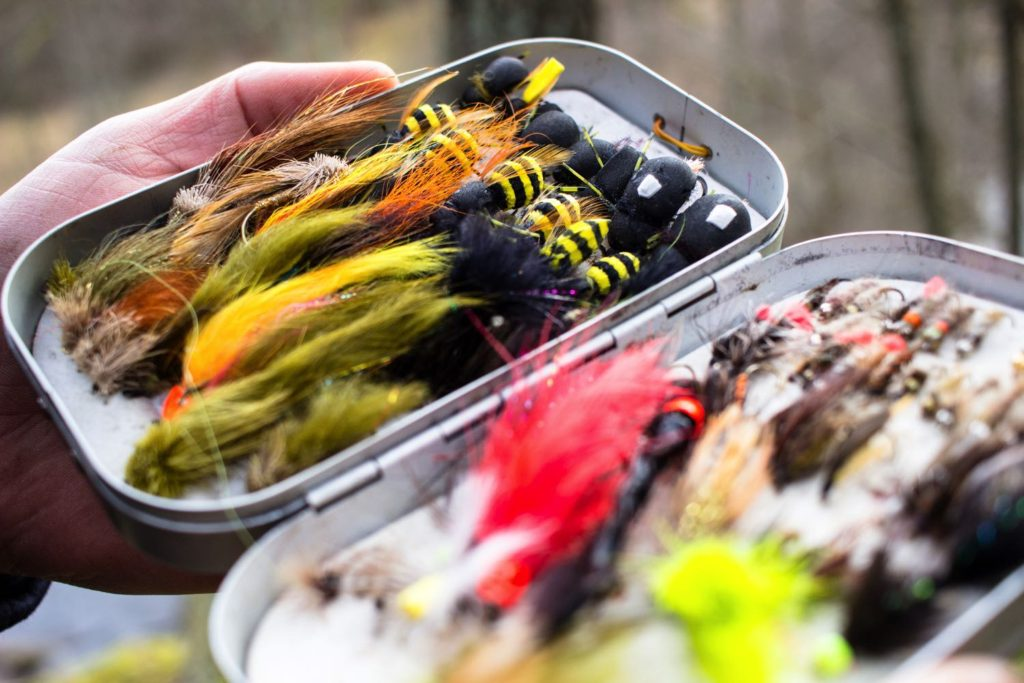 Fly Fishing Streamers - Box Full of Flies