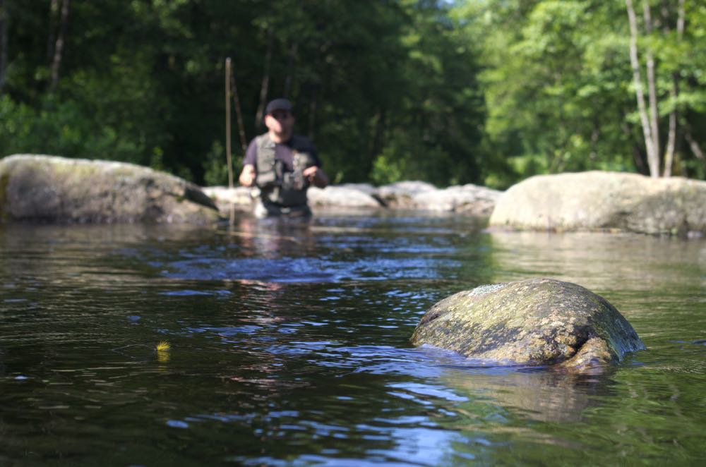 Fly Fishing with Floating Fly line & Strike Indicator