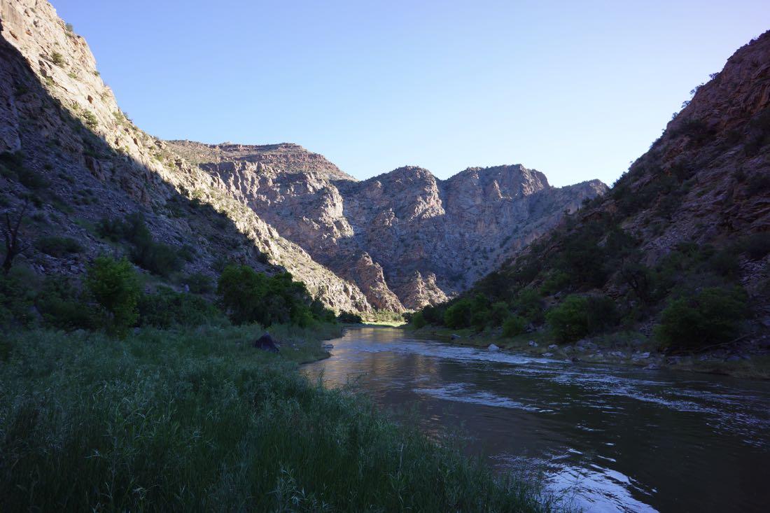 Gunnison River In Colorado