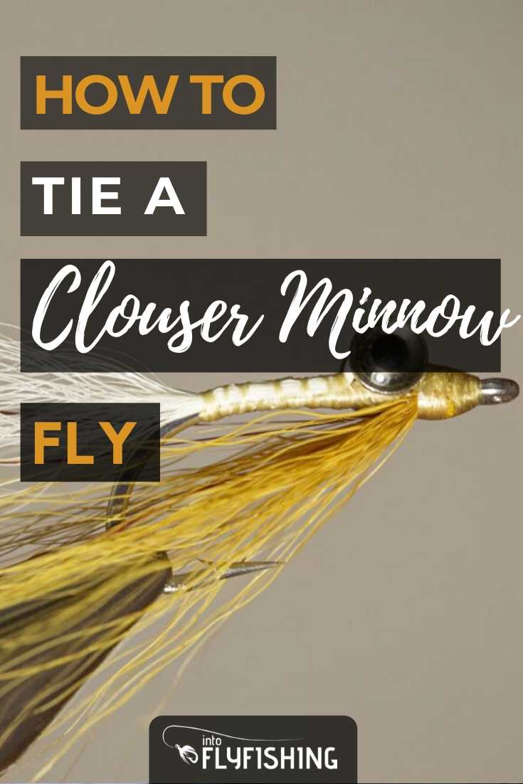 How To Tie A Clouser Minnow Fly