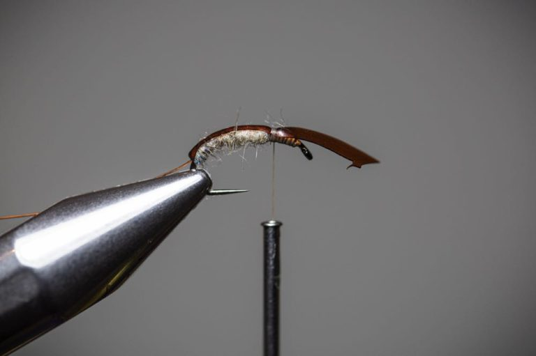 How To Tie a Caddis Fly Nymph Step10