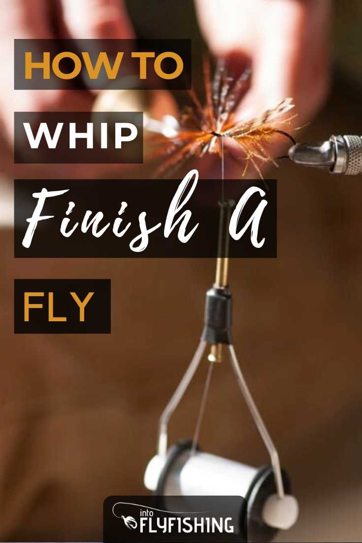 How To Whip Finish A Fly