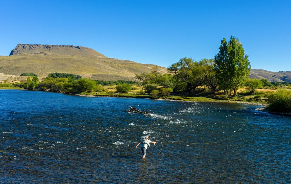 Long Casting The Orvis Clearwater Fly Rod in Patagonia