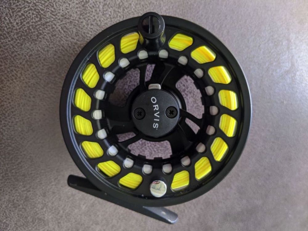 Orvis Clearwater Reel Closeup Review of Product
