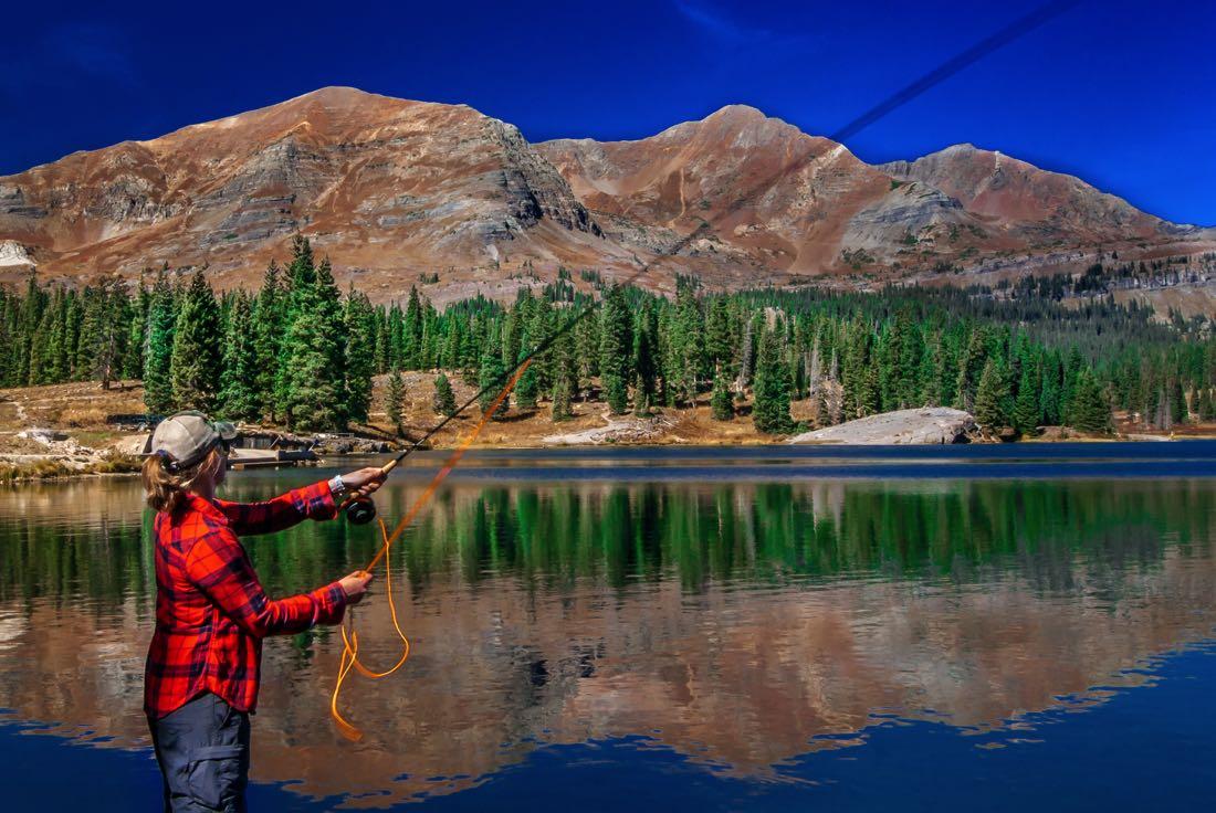 Summer Fly Fishing in Colorado