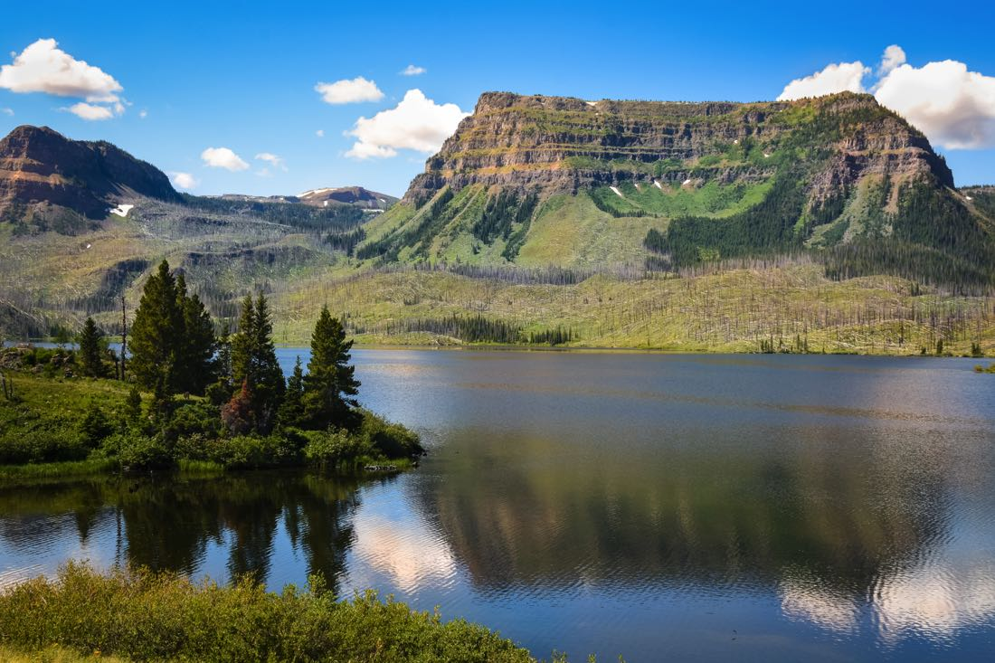 Trappers Lake In The Flattops, Fly Fishing Colorado