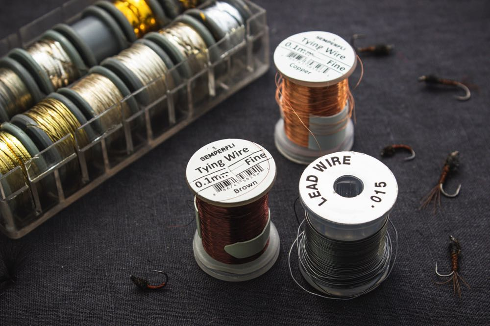 fly tying wire