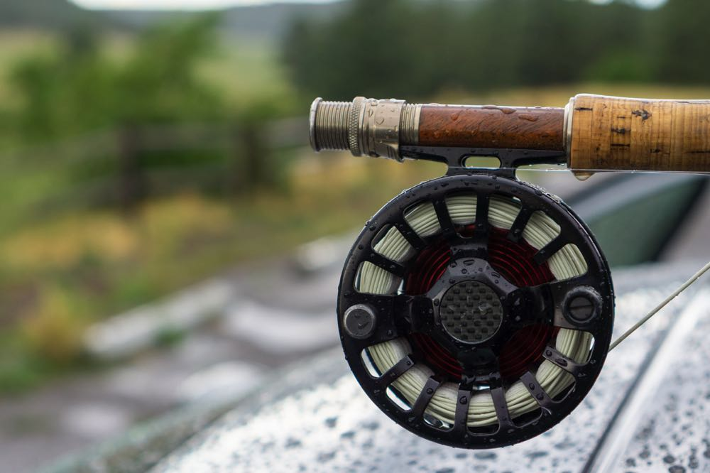 7wt Fly Reel Close Up