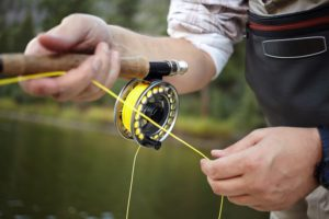 fly line for salmon fly fishing