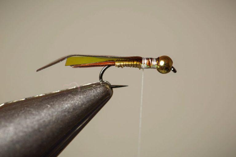 Copper John Fly Tying Tutorial Step 10