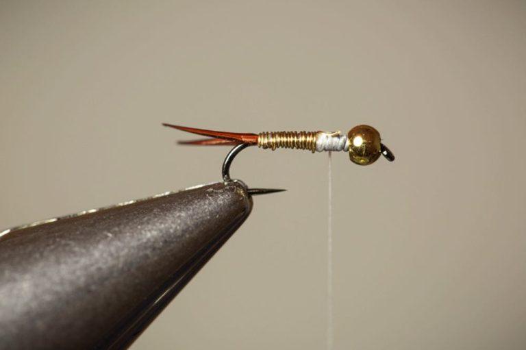 Copper John Fly Tying Tutorial Step 8