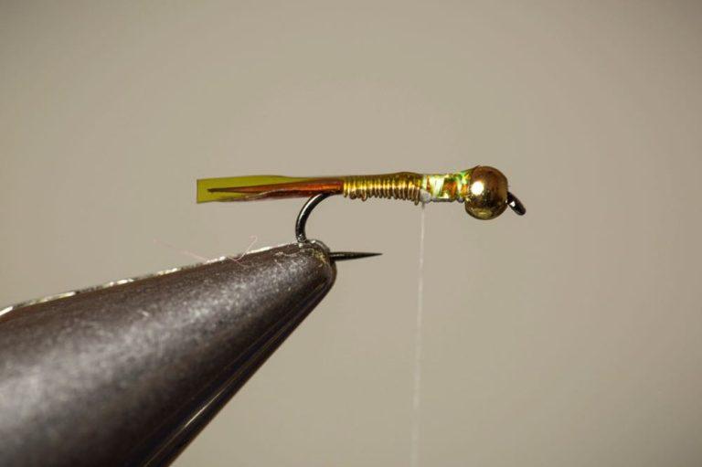 Copper John Fly Tying Tutorial Step 9