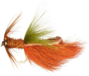 Crayfish Fly Pattern a great fly for fishing bass