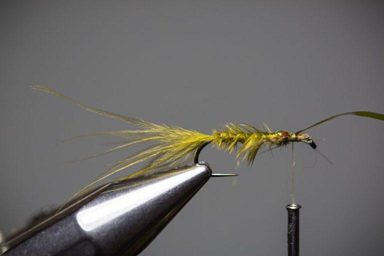 Damselfly Larva Fly Pattern Step13